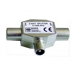 Rozbočovač plechový hybridní 1-2 IEC MALE