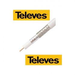 Koaxiální kabel CU TELEVES 7 mm