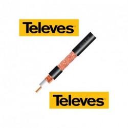 Venkovní koaxiální kabel TELEVES 6,8 mm